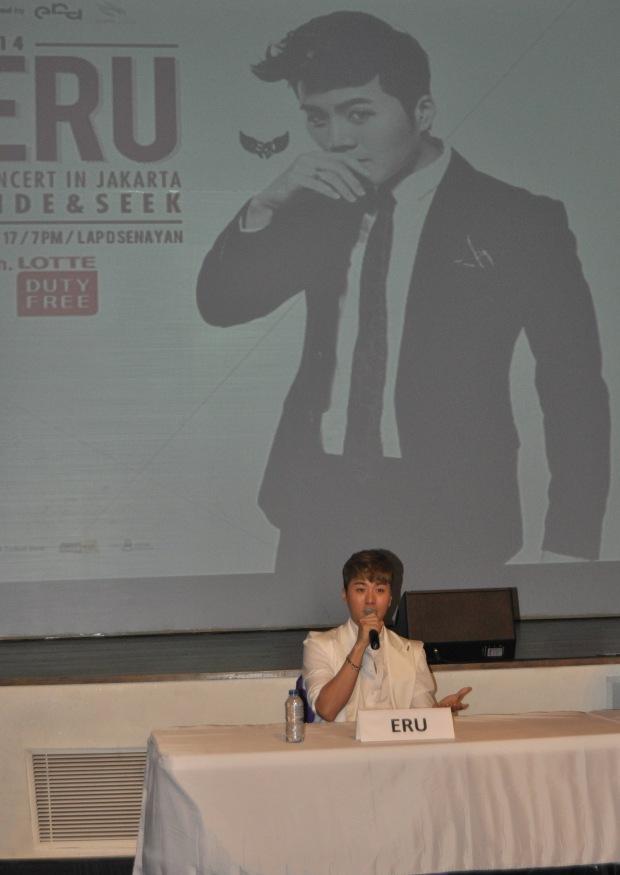 ERU press conference