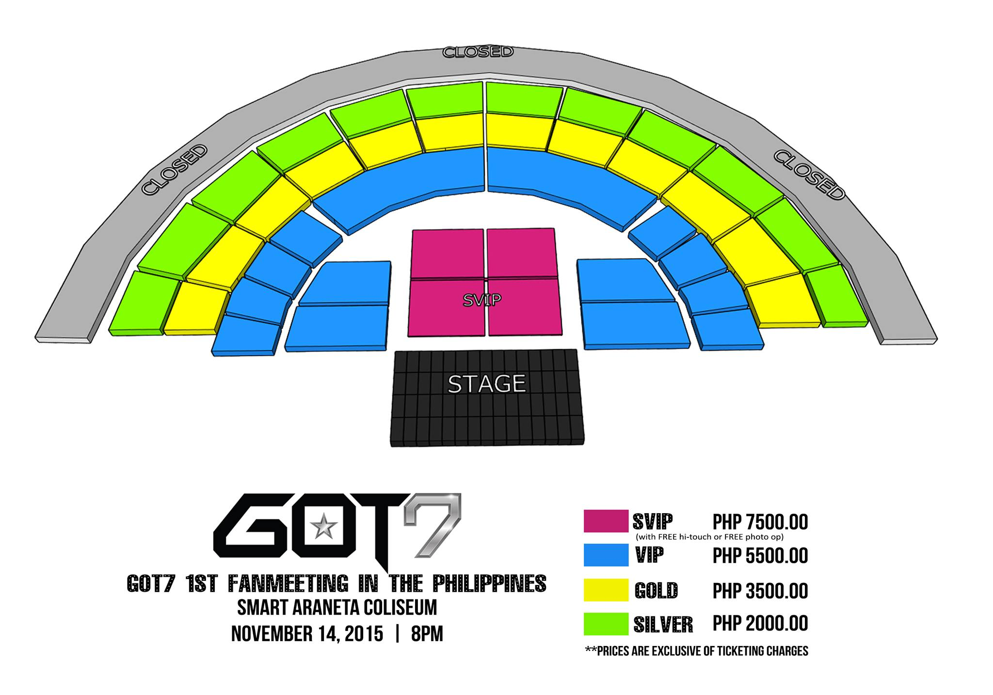 O Big Bang Ticket Jakarta