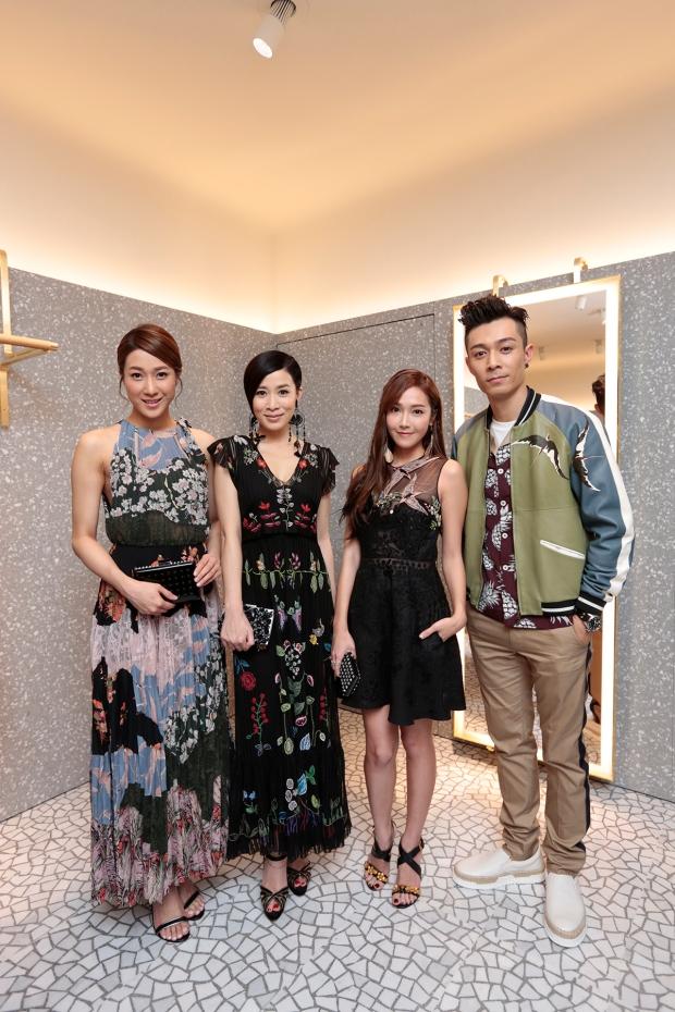 L-R Linda Chung, Charmaine Sheh, Jessica Jung, Pakho Chau